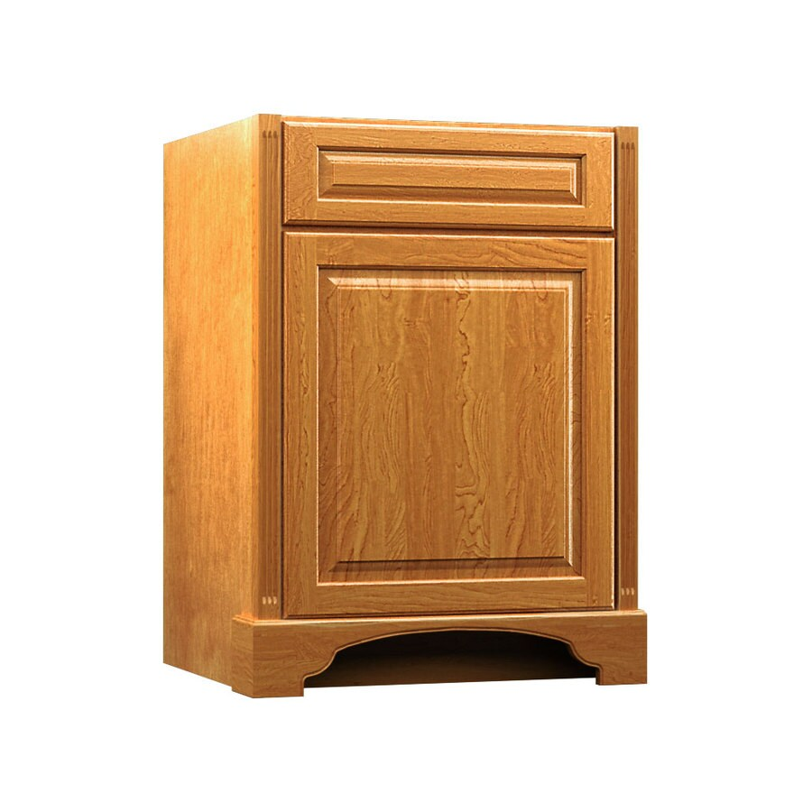 KraftMaid Praline Bathroom Vanity (Common: 24-in x 18-in; Actual: 24-in x 18-in)