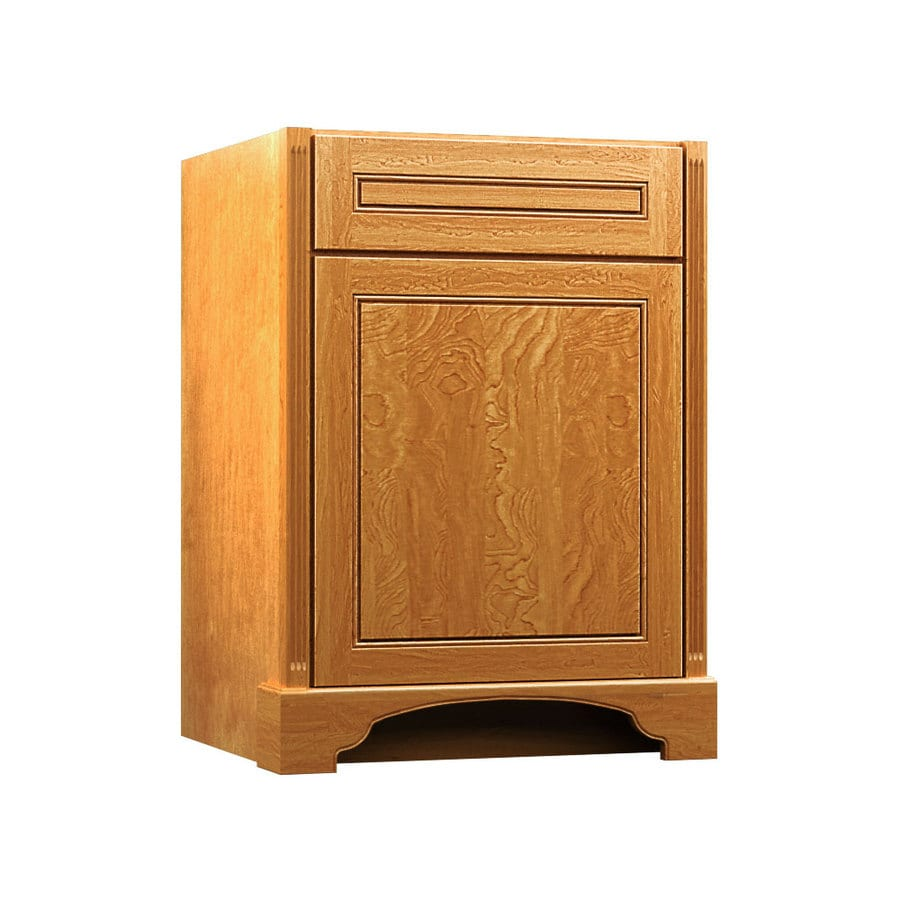 KraftMaid Praline Bathroom Vanity (Common: 24-in x 21-in; Actual: 24-in x 21-in)