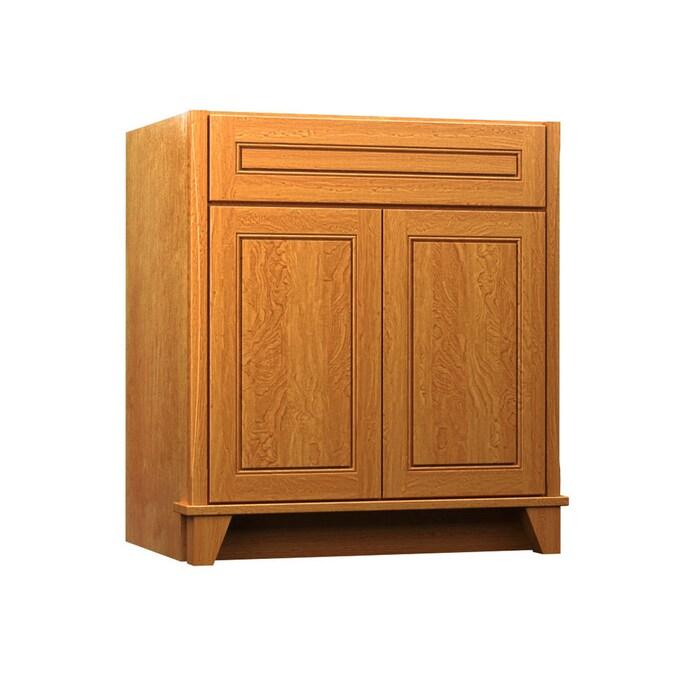 Kraftmaid 36 In Praline Bathroom Vanity Cabinet In The Bathroom Vanities Without Tops Department At Lowes Com