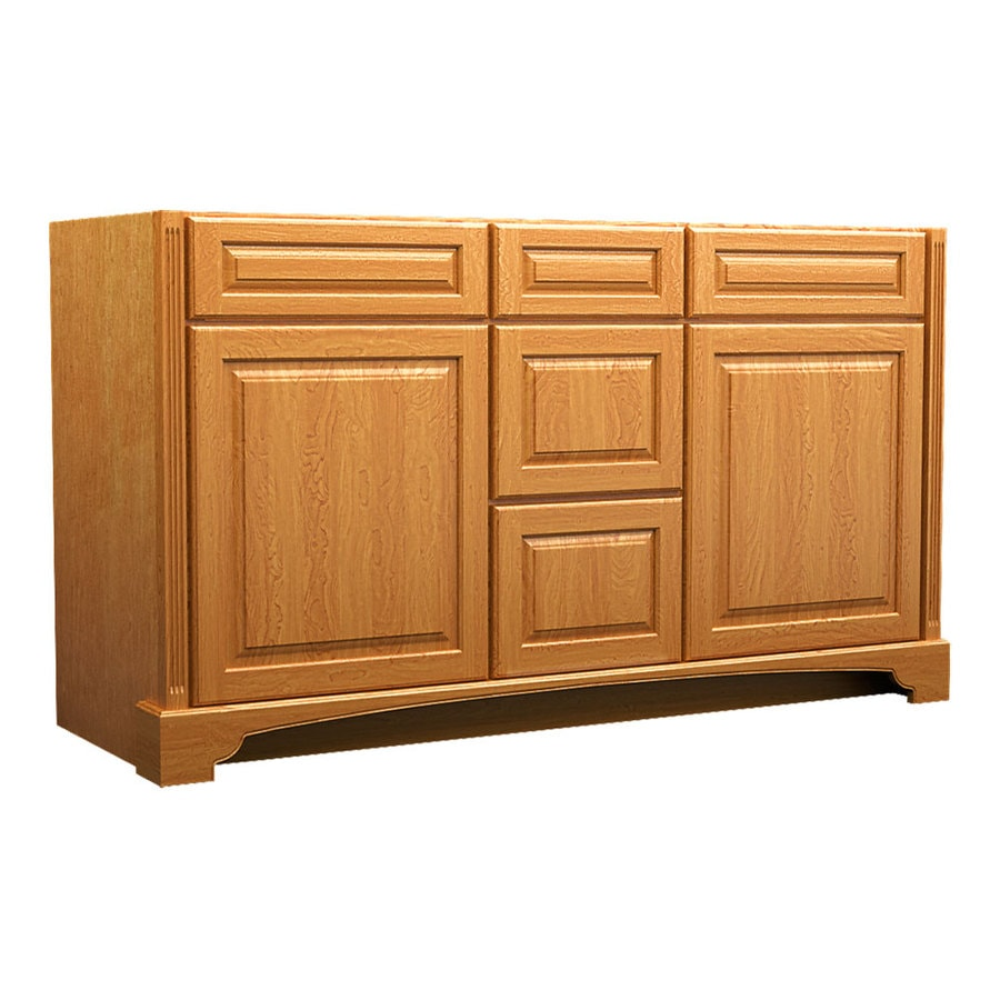 KraftMaid Praline Bathroom Vanity (Common: 60-in x 21-in; Actual: 60-in x 21-in)