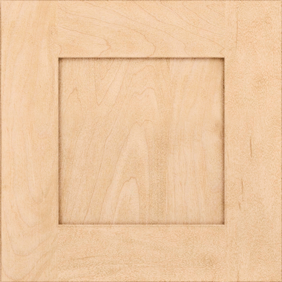 KraftMaid Durham Maple Natural 15 In X 15 In Natural Stained Maple Cabinet  Sample