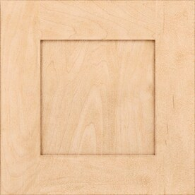 Kraftmaid Durham Maple Natural 15 In X Shaker Cabinet Sample
