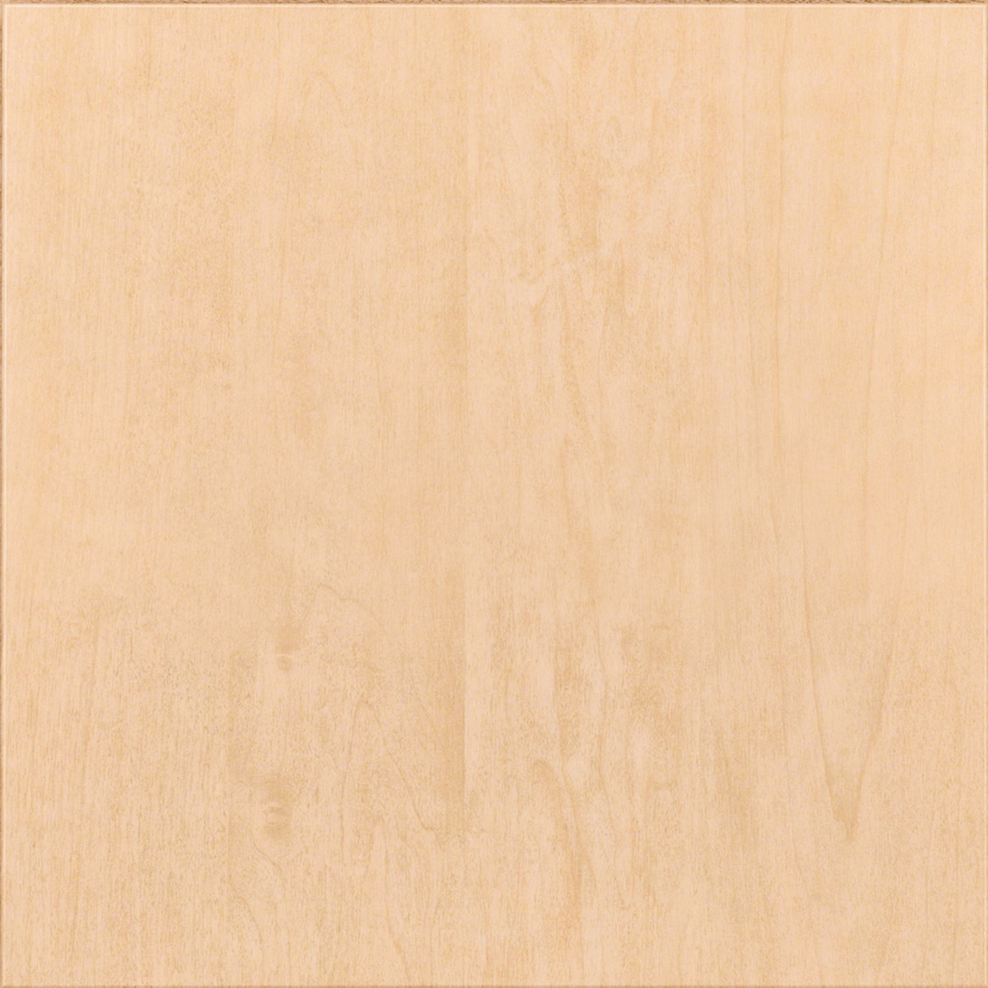 KraftMaid Malibu Maple Natural 15-in x 15-in Natural Maple Slab Cabinet Sample