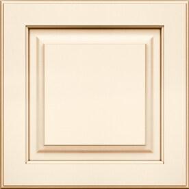 Kraftmaid Montclair Maple 15 In X Painted Raised Panel Cabinet Sample