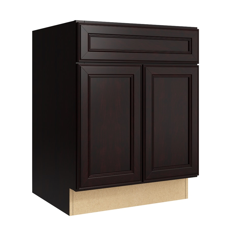 KraftMaid Momentum Kona Bellamy 2-Door Base Cabinet (Common: 24-in x 21-in x 31.5-in; Actual: 24-in x 21-in x 31.5-in)