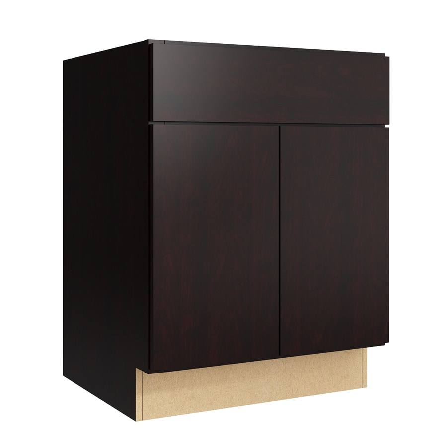 KraftMaid Momentum Kona Frontier 2-Door Base Cabinet (Common: 24-in x 21-in x 31.5-in; Actual: 24-in x 21-in x 31.5-in)