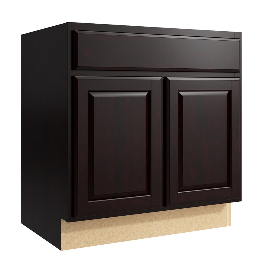 KraftMaid Momentum Kona Settler 2-Door Base Cabinet (Common: 30-in x 21-in x 31.5-in; Actual: 30-in x 21-in x 31.5-in)