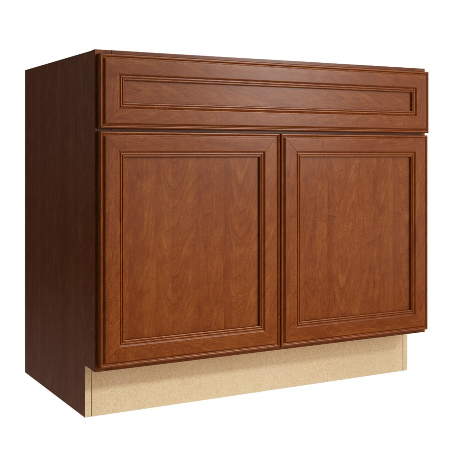 Shop Kraftmaid Momentum Bellamy Sable Bathroom Vanity At