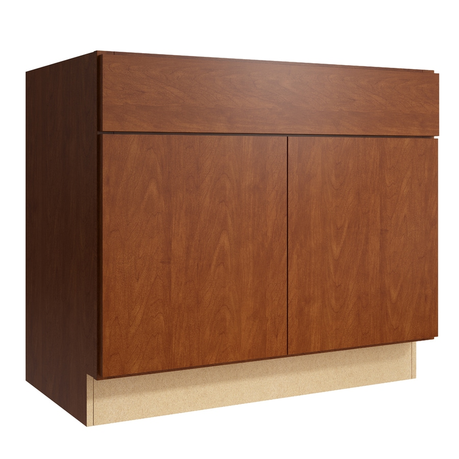 KraftMaid Momentum Sable Frontier 2-Door Base Cabinet (Common: 36-in x 21-in x 31.5-in; Actual: 36-in x 21-in x 31.5-in)