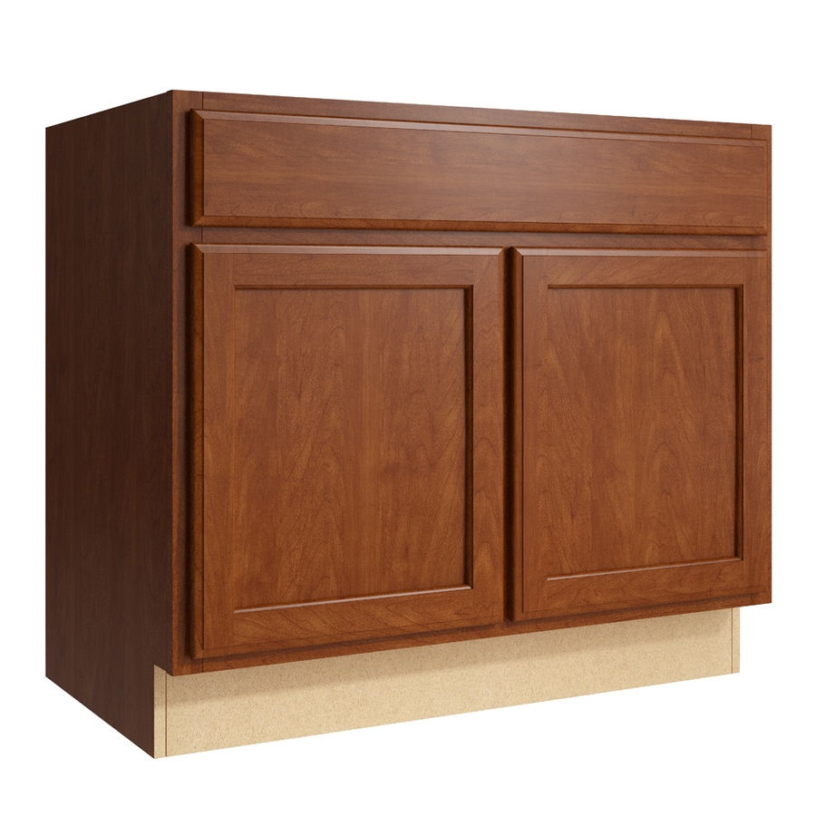 KraftMaid Momentum Sable Kingston 2-Door Base Cabinet (Common: 36-in x 21-in x 31.5-in; Actual: 36-in x 21-in x 31.5-in)