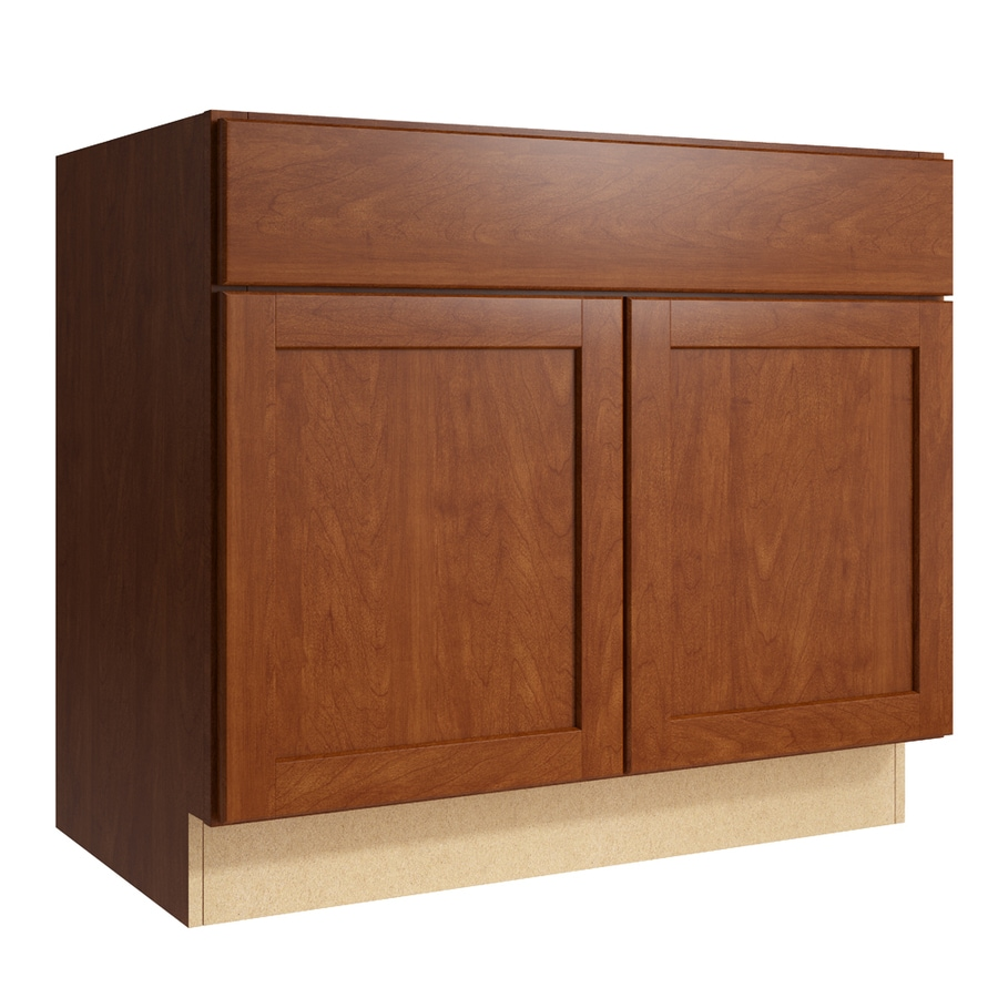 KraftMaid Momentum Sable Paxton 2-Door Base Cabinet (Common: 36-in x 21-in x 31.5-in; Actual: 36-in x 21-in x 31.5-in)