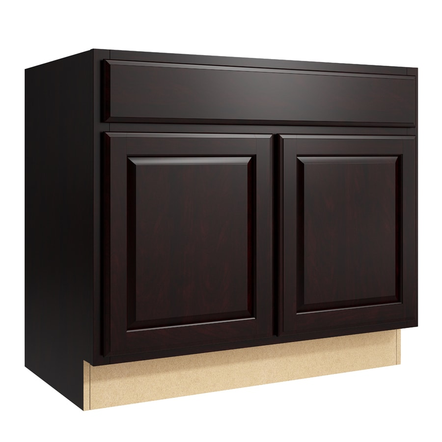 KraftMaid Momentum Kona Settler 2-Door Base Cabinet (Common: 36-in x 21-in x 31.5-in; Actual: 36-in x 21-in x 31.5-in)