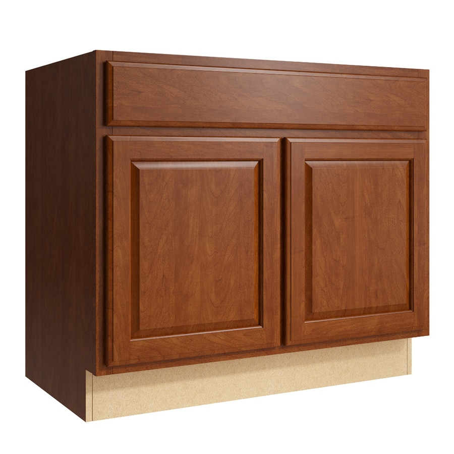 KraftMaid Momentum Sable Settler 2-Door Base Cabinet (Common: 36-in x 21-in x 31.5-in; Actual: 36-in x 21-in x 31.5-in)