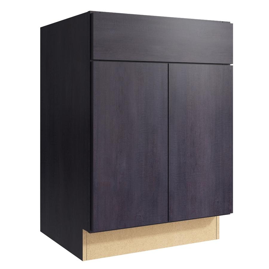 KraftMaid Momentum Dusk Frontier 2-Door Base Cabinet (Common: 24-in x 21-in x 34.5-in; Actual: 24-in x 21-in x 34.5-in)