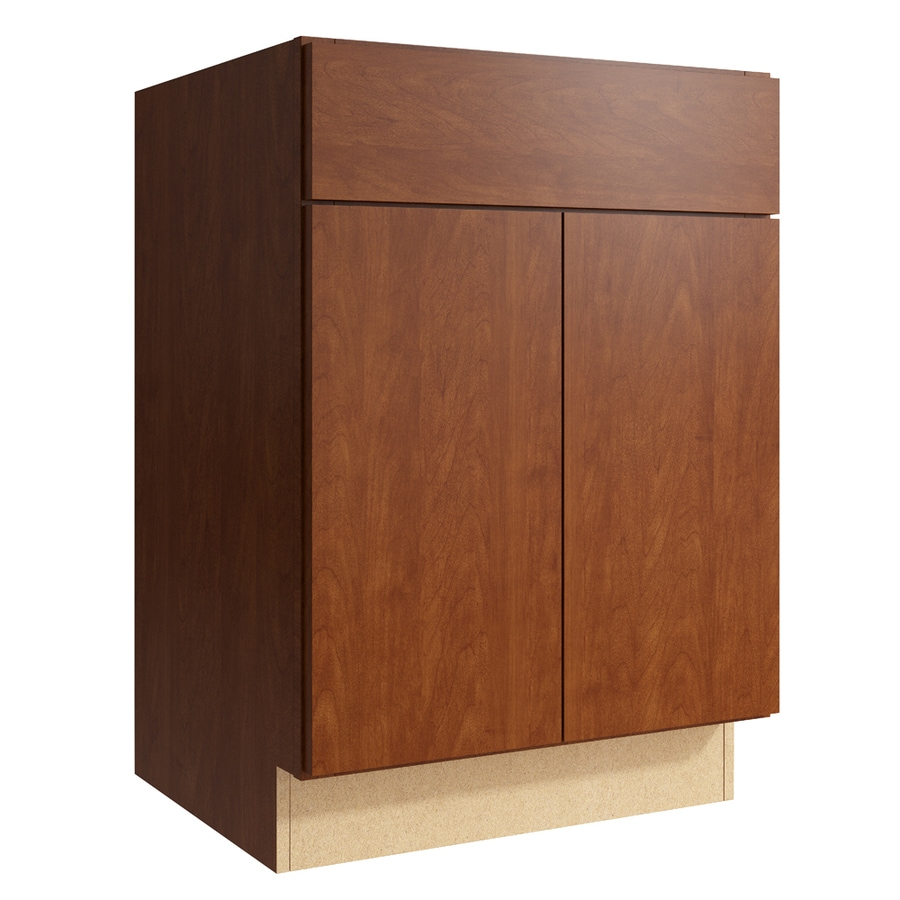 KraftMaid Momentum Sable Frontier 2-Door Base Cabinet (Common: 24-in x 21-in x 34.5-in; Actual: 24-in x 21-in x 34.5-in)