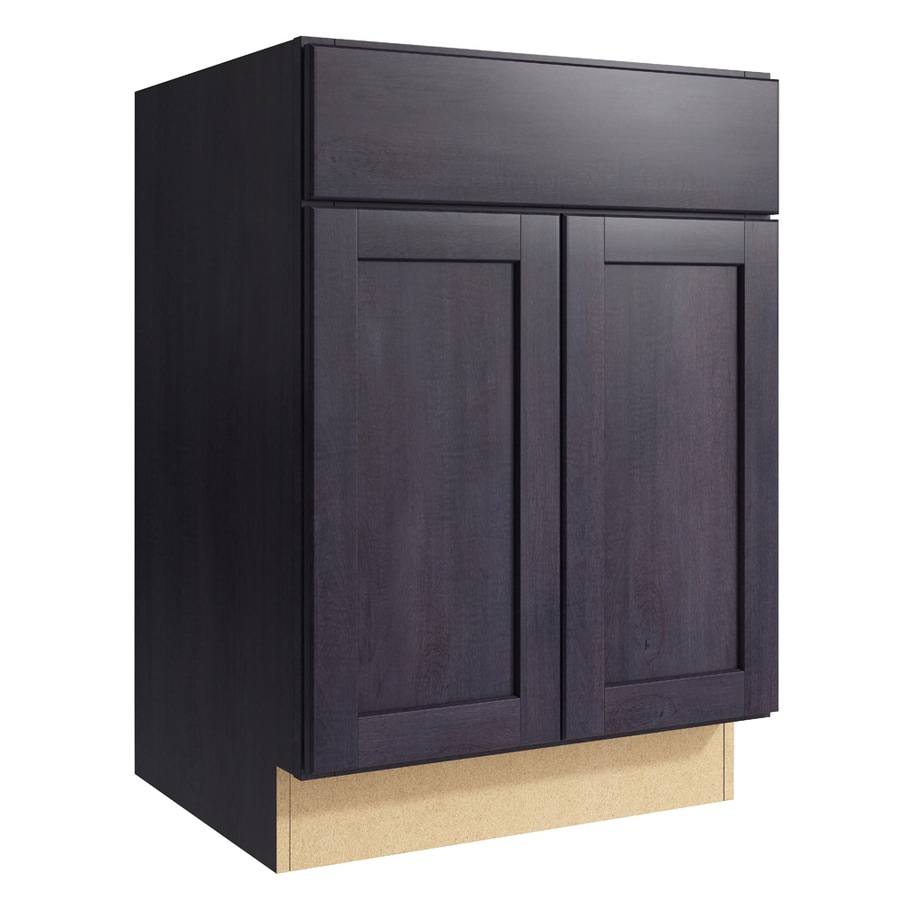 Shop Kraftmaid Momentum Paxton Dusk Bathroom Vanity At
