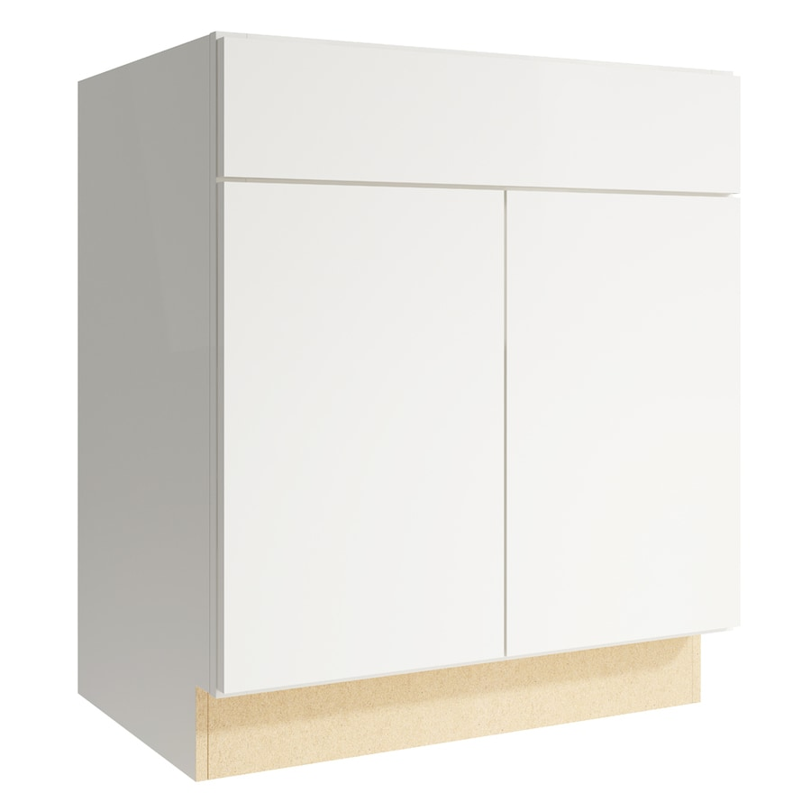 KraftMaid Momentum Frontier Cotton Bathroom Vanity