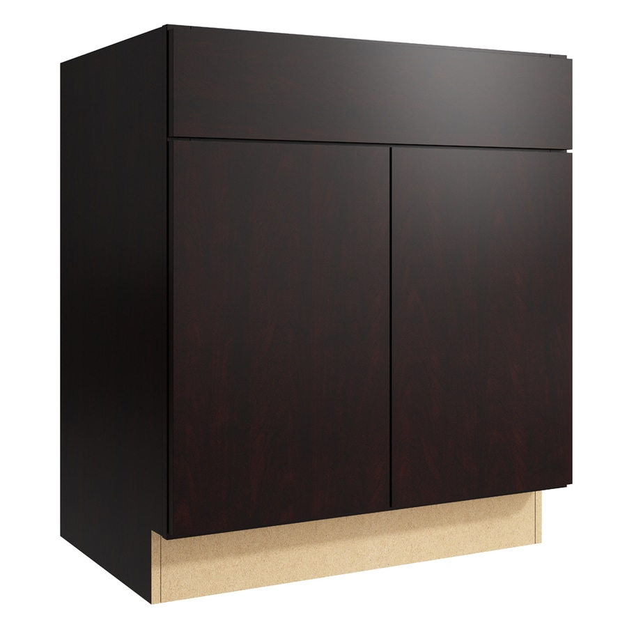 KraftMaid Momentum Kona Frontier 2-Door Base Cabinet (Common: 30-in x 21-in x 34.5-in; Actual: 30-in x 21-in x 34.5-in)