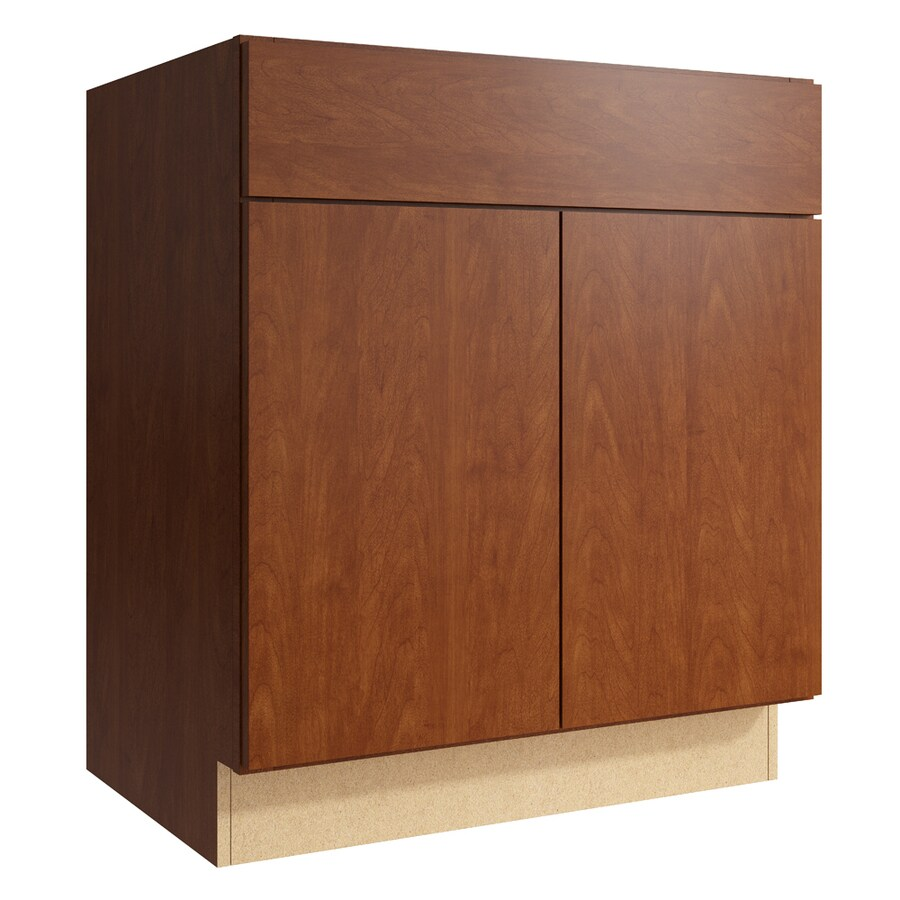 KraftMaid Momentum Sable Frontier 2-Door Base Cabinet (Common: 30-in x 21-in x 34.5-in; Actual: 30-in x 21-in x 34.5-in)