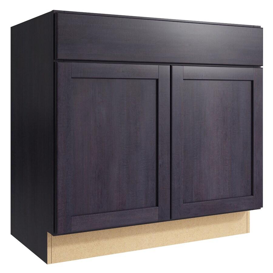 Kraftmaid Momentum Paxton 36 In Dusk Bathroom Vanity Cabinet