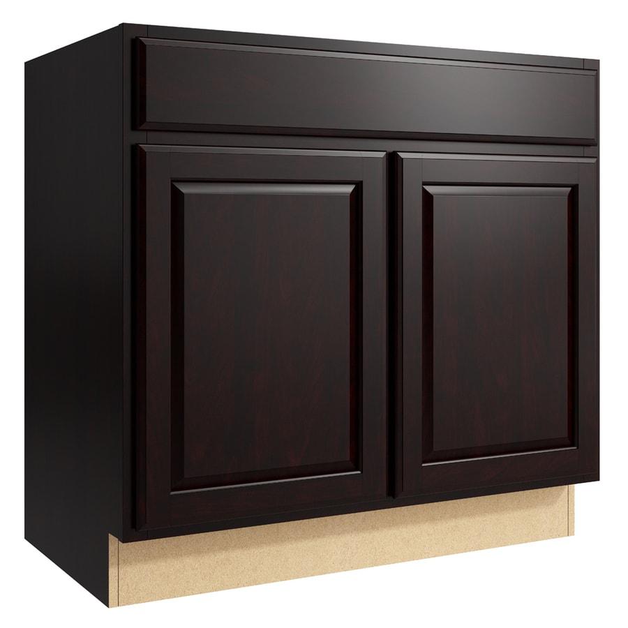 KraftMaid Momentum Kona Settler 2-Door Base Cabinet (Common: 36-in x 21-in x 34.5-in; Actual: 36-in x 21-in x 34.5-in)