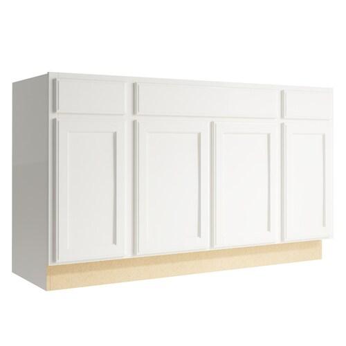 Kraftmaid Momentum Kingston 60 In Cotton Bathroom Vanity Cabinet At Lowes Com