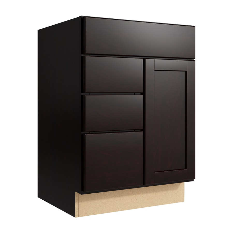Shop Kraftmaid Momentum Paxton Kona Bathroom Vanity At