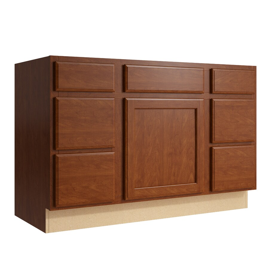 KraftMaid Momentum Kingston Sable Bathroom Vanity