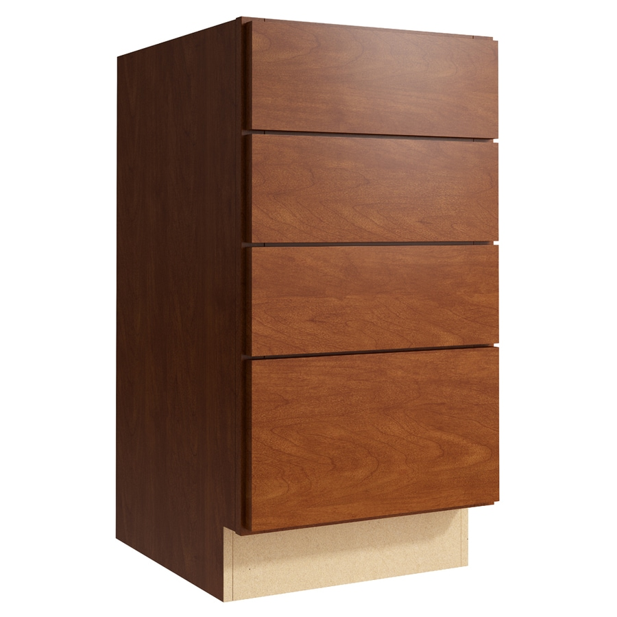 KraftMaid Momentum Sable Frontier 4-Drawer Bank (Common: 18-in x 21-in x 34.5-in; Actual: 18-in x 21-in x 34.5-in)