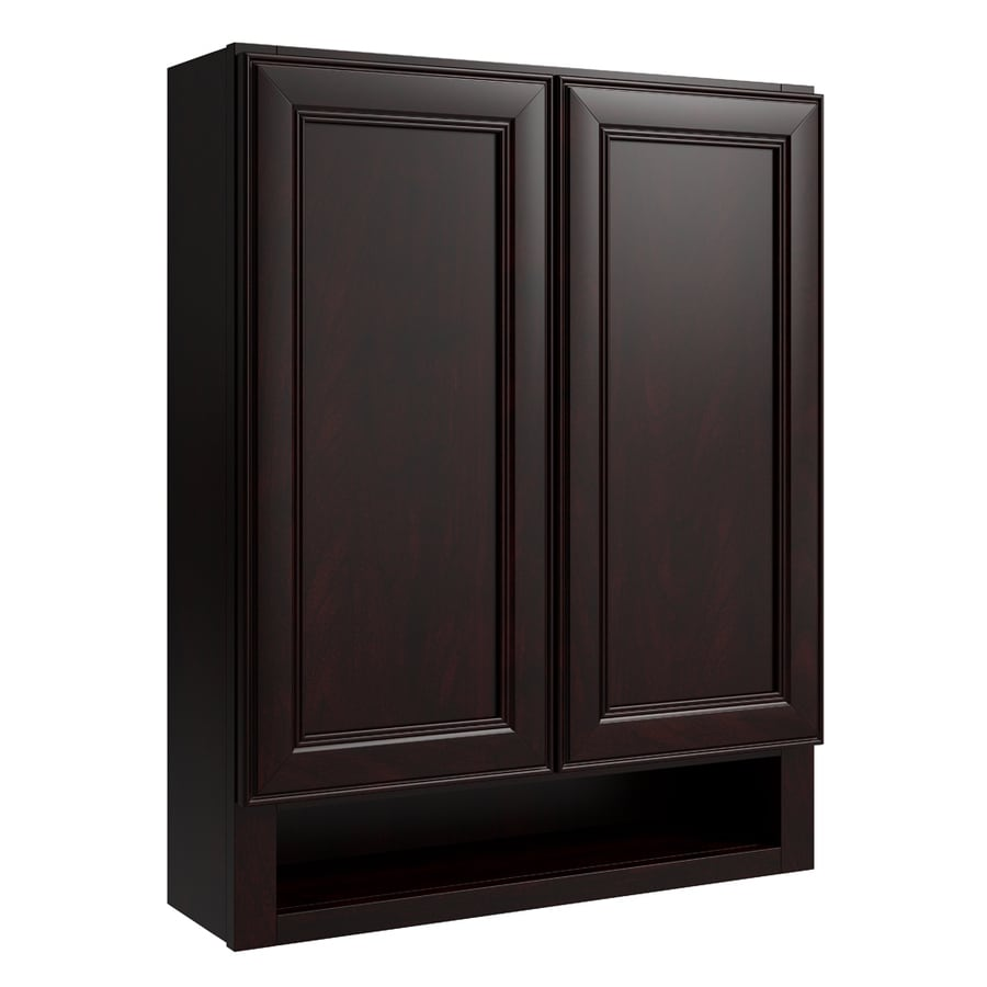 KraftMaid Momentum Kona Bellamy Wall Hutch (Common: 24-in x 7-in x 30-in; Actual: 24-in x 7-in x 30-in)