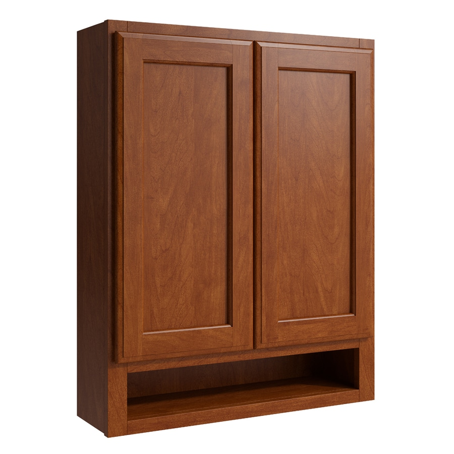 KraftMaid Momentum Sable Kingston Wall Hutch (Common: 24-in x 7-in x 30-in; Actual: 24-in x 7-in x 30-in)