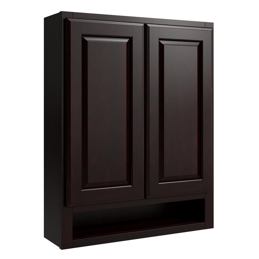 KraftMaid Momentum Kona Settler Wall Hutch (Common: 24-in x 7-in x 30-in; Actual: 24-in x 7-in x 30-in)