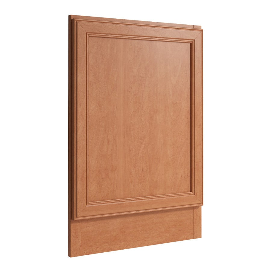 KraftMaid Momentum Hazelnut Standard Bellamy Decorative End Panel (Common: 21-in x 0.937 x 31.5-in; Actual: 20.25-in x 0.937 x 31.5-in)