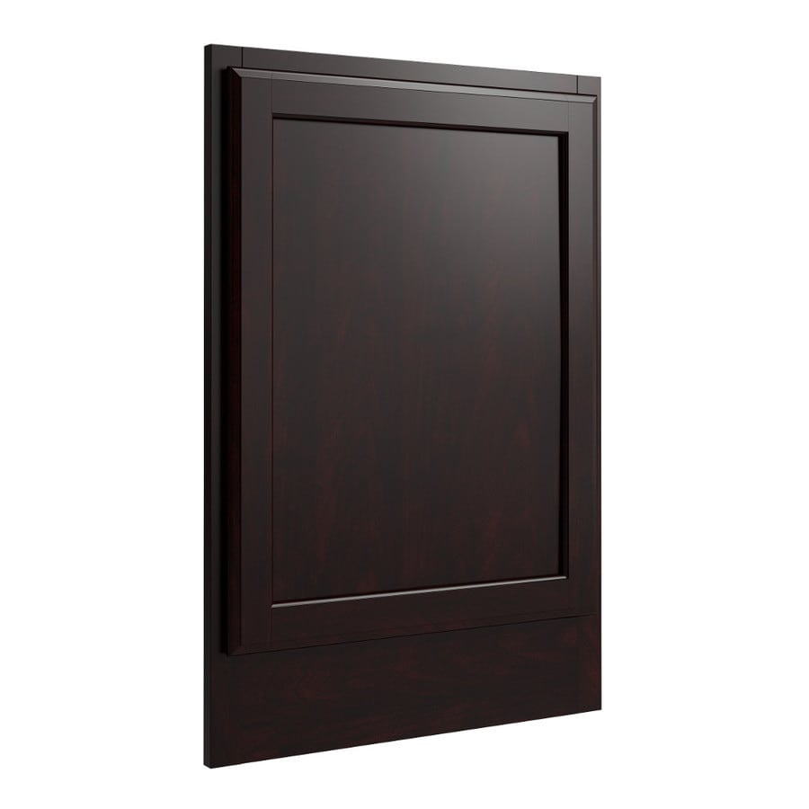 KraftMaid Momentum Kona Standard Kingston Decorative End Panel (Common: 21-in x 0.937 x 31.5-in; Actual: 20.25-in x 0.937 x 31.5-in)