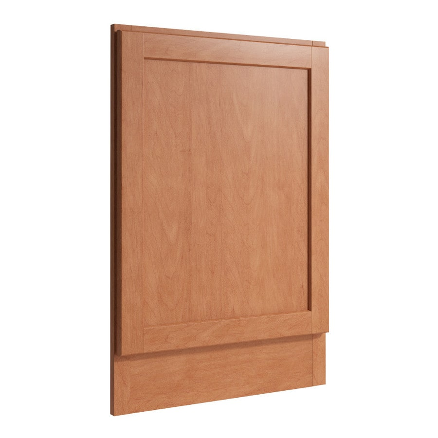 KraftMaid Momentum Hazelnut Standard Paxton Decorative End Panel (Common: 21-in x 0.937 x 31.5-in; Actual: 20.25-in x 0.937 x 31.5-in)