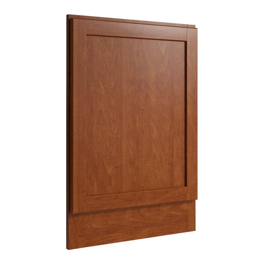 KraftMaid Momentum Sable Standard Paxton Decorative End Panel (Common: 21-in x 0.937 x 31.5-in; Actual: 20.25-in x 0.937 x 31.5-in)