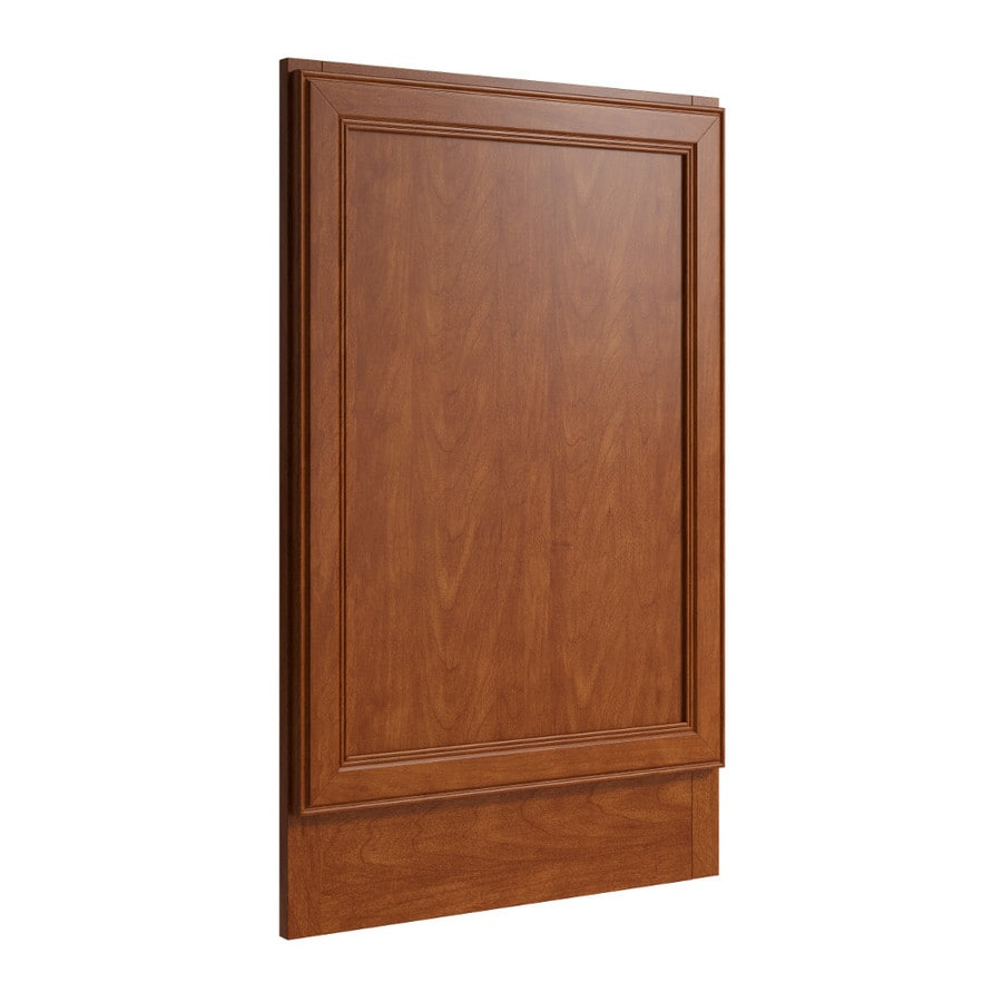 KraftMaid Momentum Sable Standard Bellamy Decorative End Panel (Common: 21-in x 0.937 x 34.5-in; Actual: 20.25-in x 0.937 x 34.5-in)