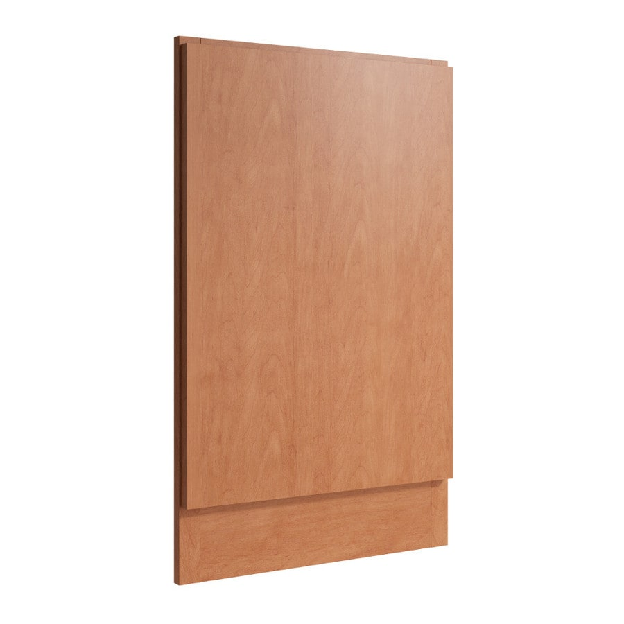 KraftMaid Momentum Hazelnut Standard Frontier Decorative End Panel (Common: 21-in x 0.937 x 34.5-in; Actual: 20.25-in x 0.937 x 34.5-in)