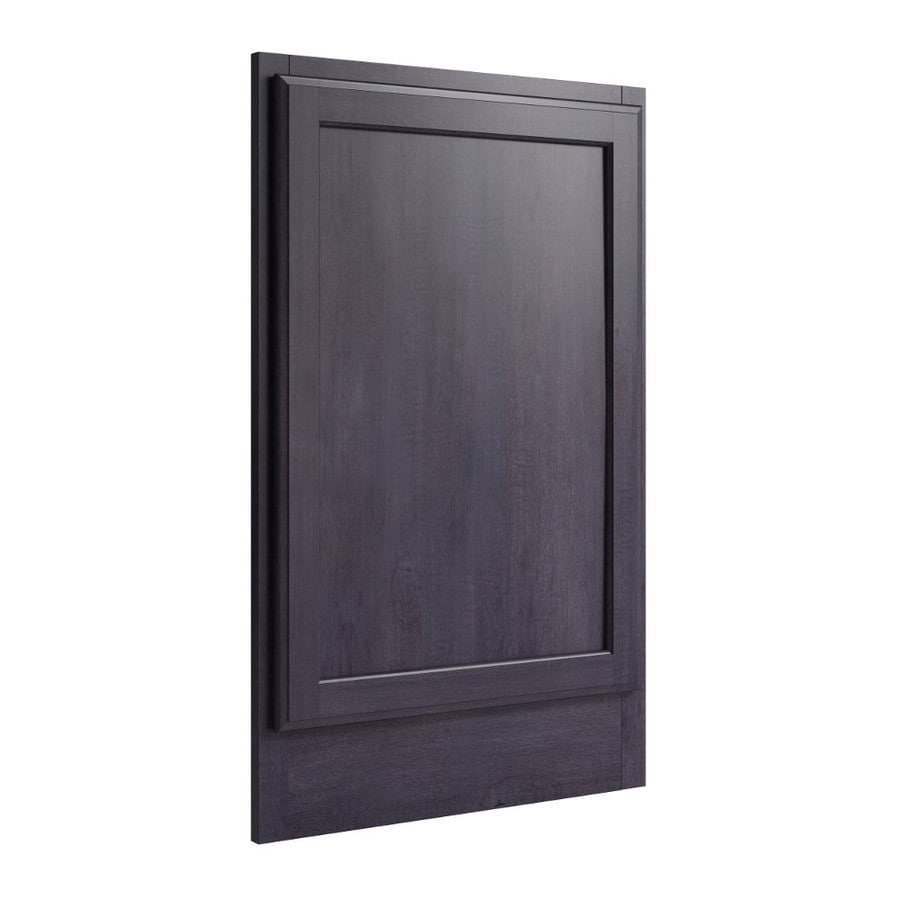 KraftMaid Momentum Dusk Standard Kingston Decorative End Panel (Common: 21-in x 0.937 x 34.5-in; Actual: 20.25-in x 0.937 x 34.5-in)