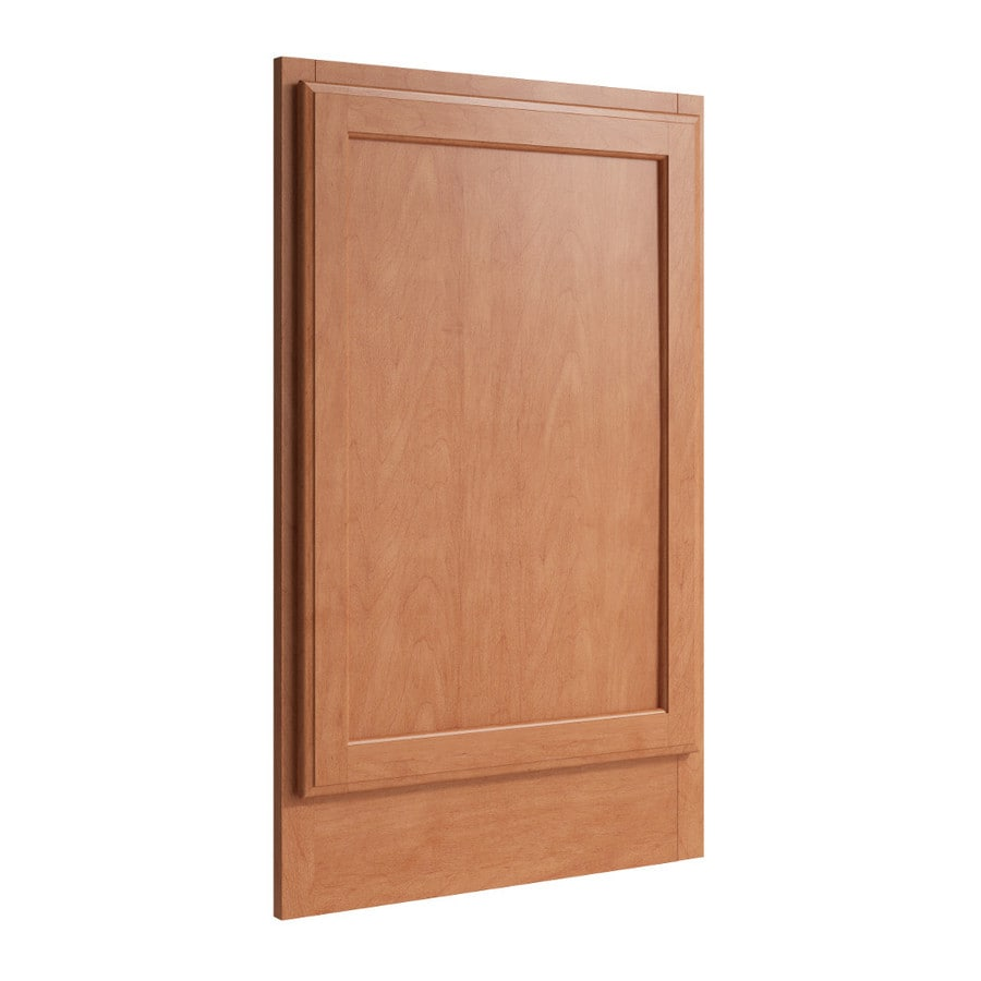 KraftMaid Momentum Hazelnut Standard Kingston Decorative End Panel (Common: 21-in x 0.937 x 34.5-in; Actual: 20.25-in x 0.937 x 34.5-in)