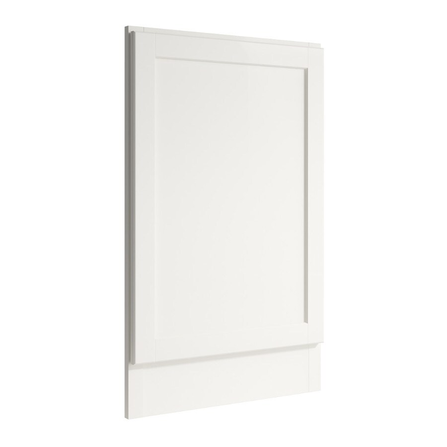 KraftMaid Momentum Cotton Standard Paxton Decorative End Panel (Common: 21-in x 0.937 x 34.5-in; Actual: 20.25-in x 0.937 x 34.5-in)
