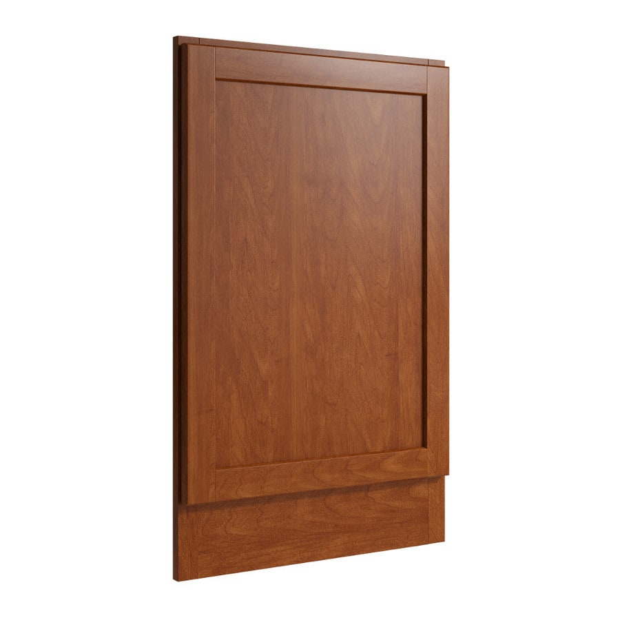 KraftMaid Momentum Sable Standard Paxton Decorative End Panel (Common: 21-in x 0.937 x 34.5-in; Actual: 20.25-in x 0.937 x 34.5-in)