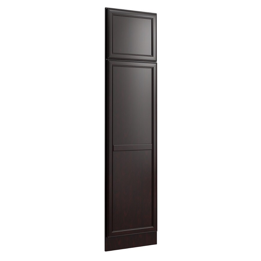 KraftMaid Momentum Kona Standard Bellamy Decorative End Panel (Common: 21-in x 0.937 x 84-in; Actual: 20.25-in x 0.937 x 84-in)
