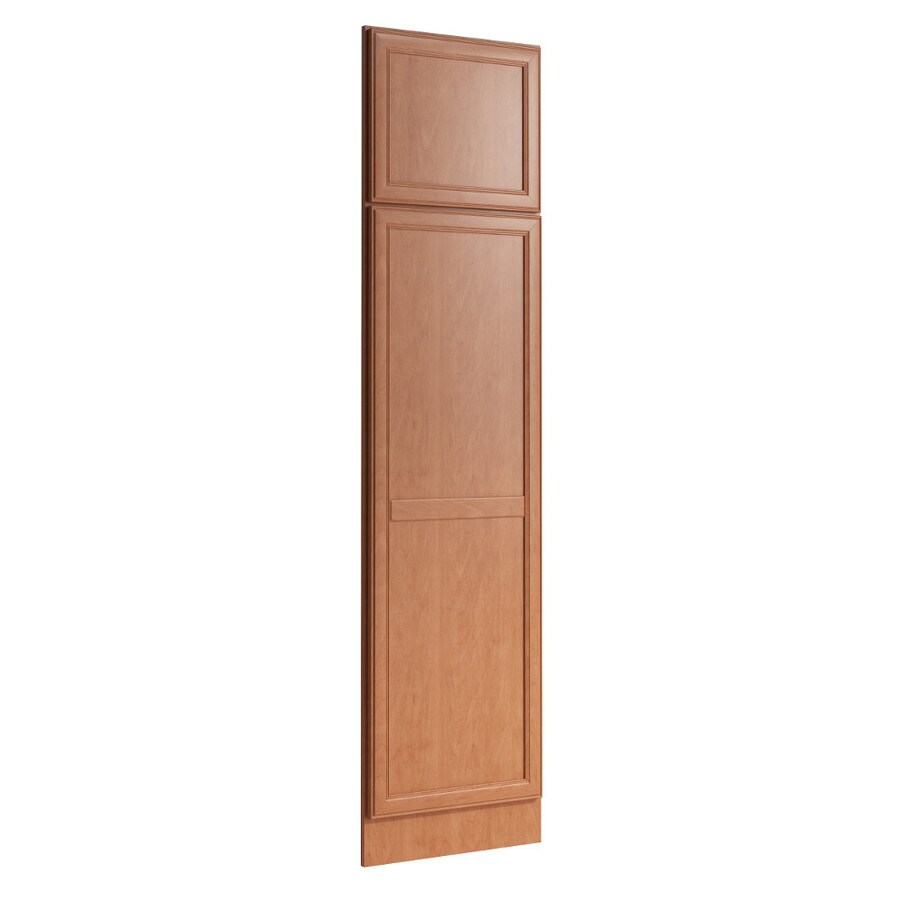 KraftMaid Momentum Hazelnut Standard Bellamy Decorative End Panel (Common: 21-in x 0.937 x 84-in; Actual: 20.25-in x 0.937 x 84-in)