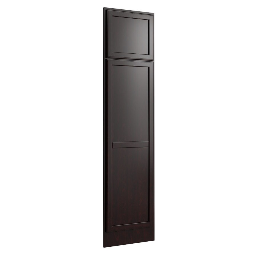 KraftMaid Momentum Kona Standard Kingston Decorative End Panel (Common: 21-in x 0.937 x 84-in; Actual: 20.25-in x 0.937 x 84-in)