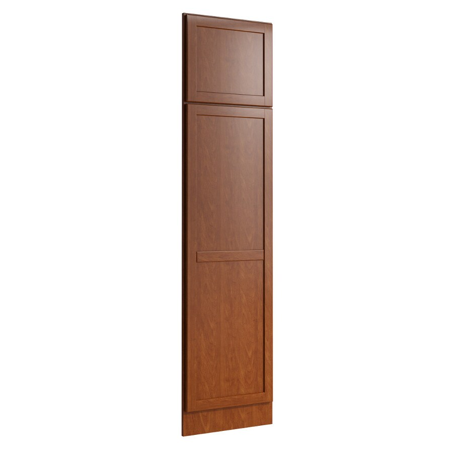 KraftMaid Momentum Sable Standard Paxton Decorative End Panel (Common: 21-in x 0.937 x 84-in; Actual: 20.25-in x 0.937 x 84-in)