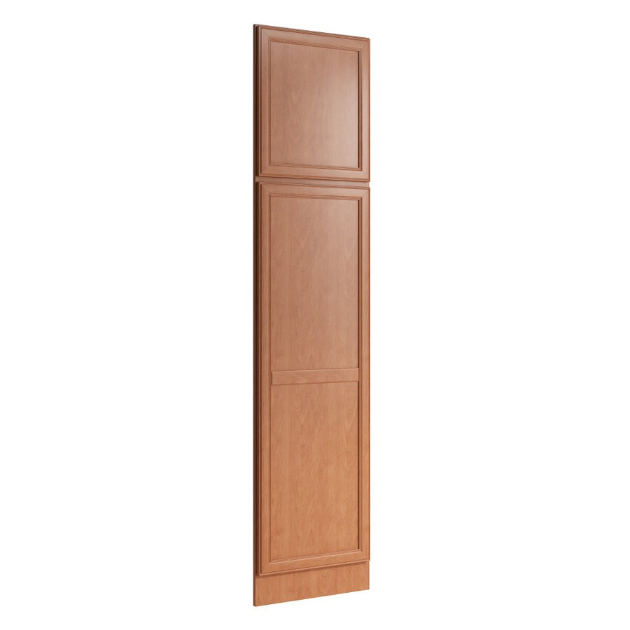 KraftMaid Momentum Hazelnut Standard Bellamy Decorative End Panel (Common: 21-in x 0.937 x 90-in; Actual: 20.25-in x 0.937 x 90-in)