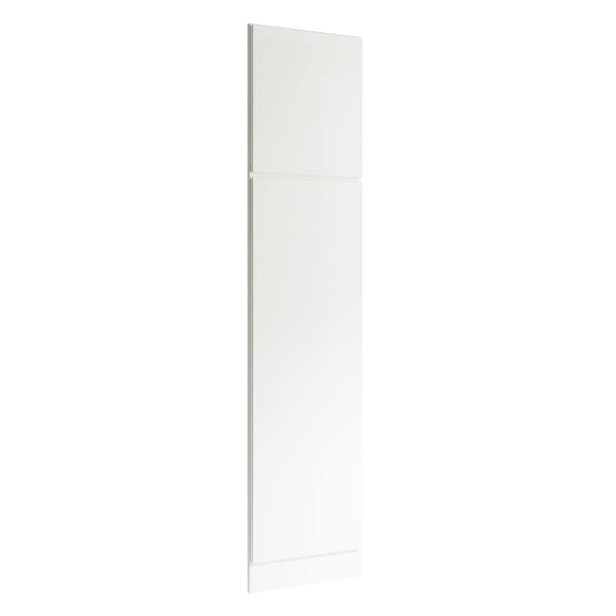 KraftMaid Momentum Cotton Standard Frontier Decorative End Panel (Common: 21-in x 0.937 x 90-in; Actual: 20.25-in x 0.937 x 90-in)