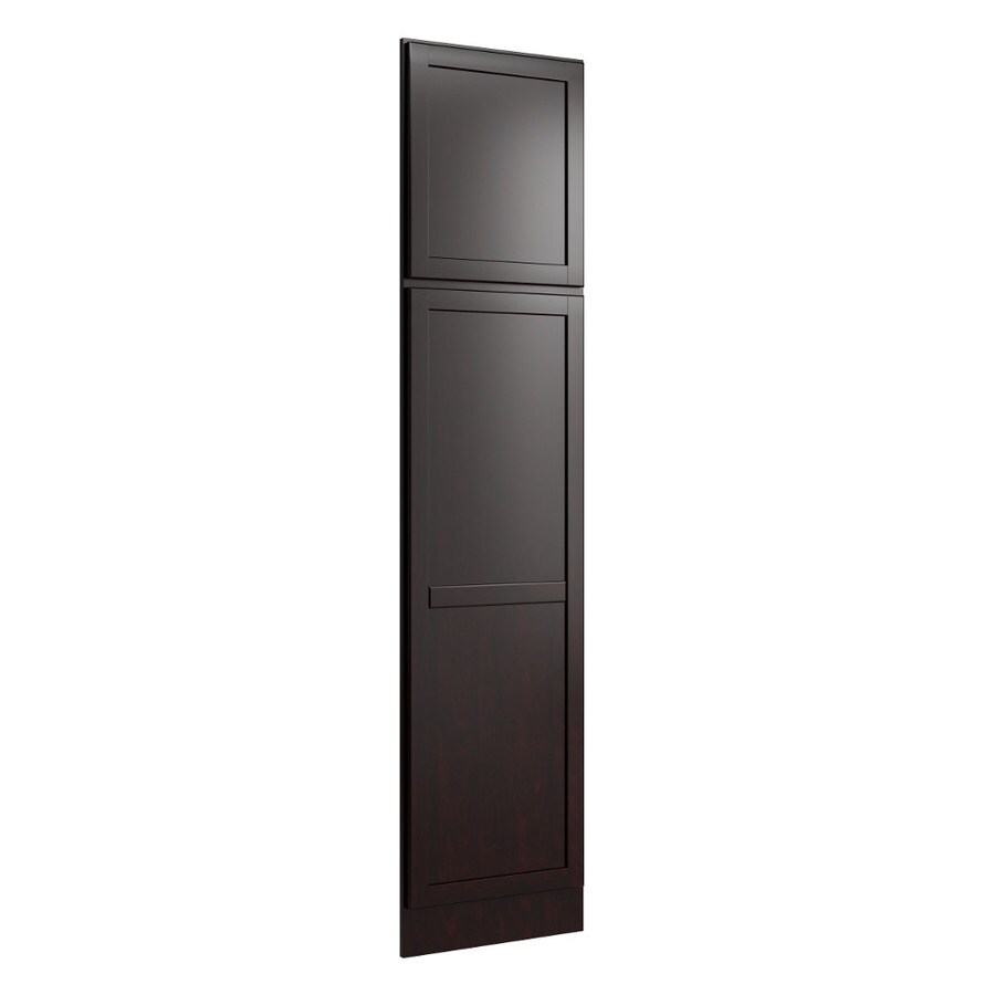 KraftMaid Momentum Kona Standard Paxton Decorative End Panel (Common: 21-in x 0.937 x 90-in; Actual: 20.25-in x 0.937 x 90-in)