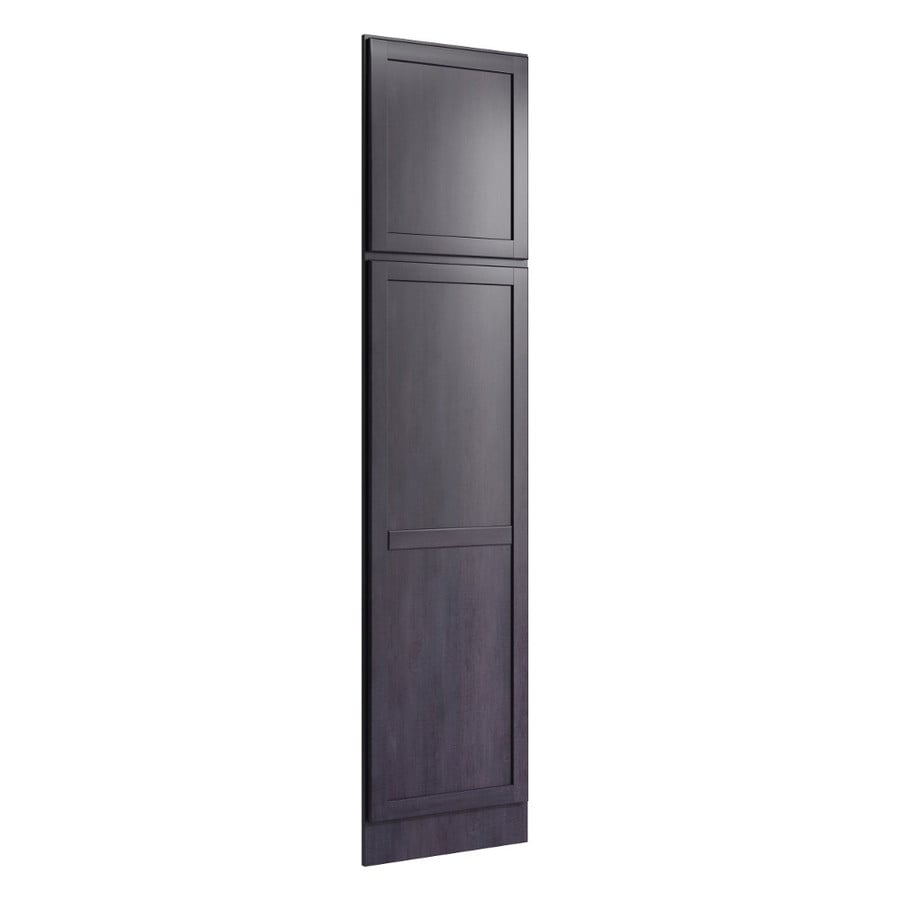 KraftMaid Momentum Dusk Standard Paxton Decorative End Panel (Common: 21-in x 0.937 x 90-in; Actual: 20.25-in x 0.937 x 90-in)
